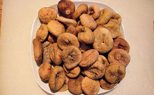 dried figs (Turkey)