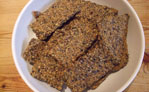 Fruity hemp seed crackers III