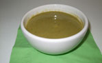 Vegetable and avocado soup